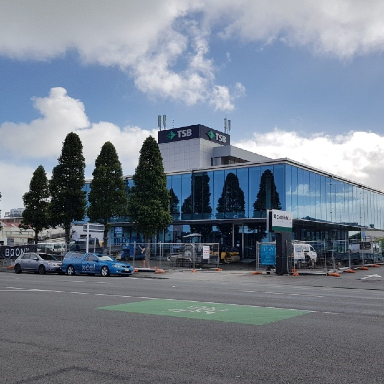 TSB Building Extension, New Plymouth CBD